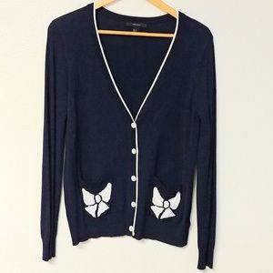 Forever 21 Bow Cardigan